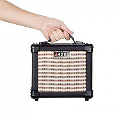 Aroma Electric Guitar AMP AG-10 Amplifier for Guitar Ukulele bass Vocal mic 10W