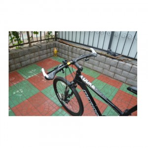 1 Pair Of Bicycle Bike Cycling Lock On Handlebar Grip With Bar Ends Aluminium