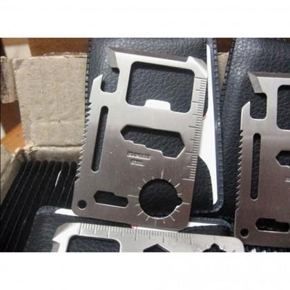 10 in 1 Bicycle Outdoor Repair Tool Card Life-Saving Multi-Function