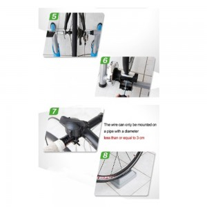 BICYCLE TRAINER DEUTER PRO Indoor Resistance WITH REMOTE CABLE With Fast Release