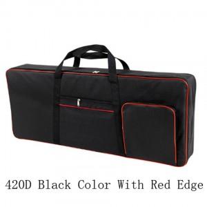 61 Keys Keyboard Electric Piano Waterproof Bag Padded Case Gig Sponge 420D