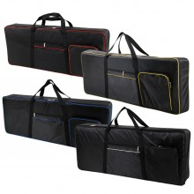 61 Keys Keyboard Electric Piano Waterproof Bag Padded Case Gig Sponge 420D