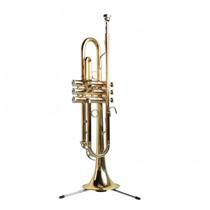 SOU Trumpet Folding Stand Small Frame Small Vertical Bracket Instrument Shelf Pipe Bracket Accessories  foldable