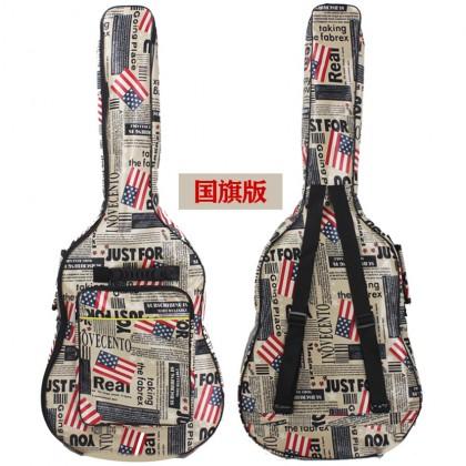 41 inch Acoustic Guitar Padded Gig Bag Beg Gitar Akustik Backpack Hand Carry (THICK)