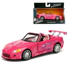 Jada Fast & Furious 2 1:32 Diecast Suki's Honda S2000 Car Pink Model Collection
