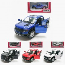 Kinsmart 1:46 Die-cast 2013 Ford F-150 SVT Raptor SuperCrew Car Model with Box Collection