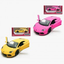 Kinsmart 1:38 Die-cast Lamborghini Aventador LP 700-4 Matte Car Model with Box Collection