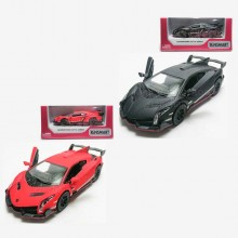 Kinsmart 1:36 Die-cast Lamborghini Veneno Matte Car Model with Box Collection