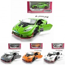 Kinsmart 1:36 Die-cast Lamborghini Huracan LP620-2 Super Trofeo Car Model with Box Collection
