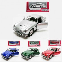 Kinsmart 1:38 Die-cast 1963 Aston Martin DB5 Car Model with Box Collection