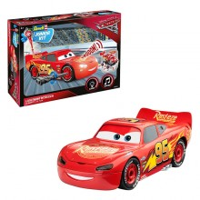 Revell Junior Kit Car 3 1:20 Lightning McQueen 00860 Light & Sound Plastic Model