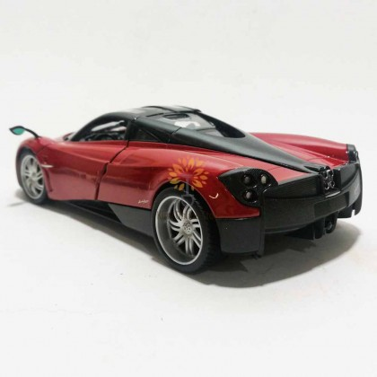 Welly 1:24 Die-cast Pagani Huayra Car Model Red with Box Collection Christmas New Gift